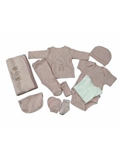 Kiti Kate Kitikate Organik 10'Lu Bebek Hastane Çıkış Seti S16765